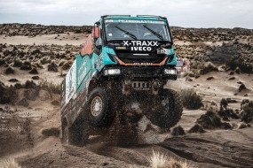 Členové týmu IVECO se opět umístili mezi nejlepšími závodníky nejtěžší rallye na světě