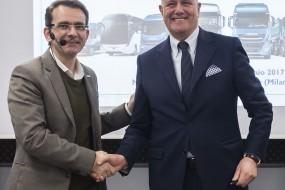 IVECO a Lannutti podepsali jednu z nejvýznamnějších evropských smluv ohledně kamionové dopravy
