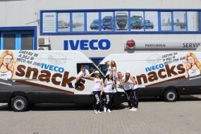 IVECO rozdává svačinky svým řidičům kamionů