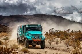 Tým PETRONAS De Rooy IVECO je připravený na nejnáročnější světové rallye: Dakar 2018 a Africa Eco Race 2018