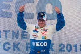 Tým Bullen of IVECO Magirus vstoupil do druhé poloviny sezóny vítězstvím v závodě v Mostě
